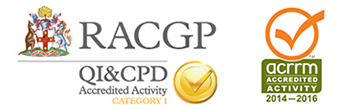 RACGP and ACRRM logos